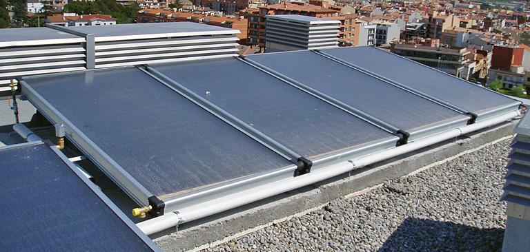 Enginyeria girona obres i instal lacions d 39 enginyeria for Plaques solars termiques